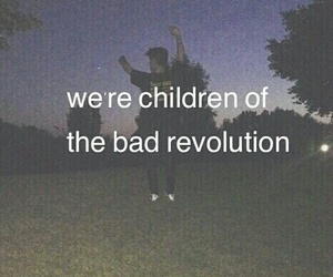 grunge, revolution, and bad image