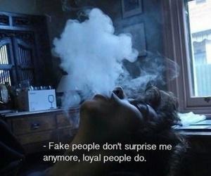 fake, grunge, and smoke image
