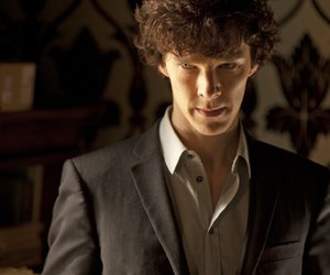 sherlock, holmes, and benedict cumberbatch image