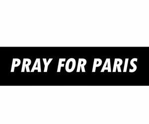 paris, sad, and pray for paris image