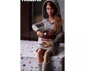 barbie and nutella image