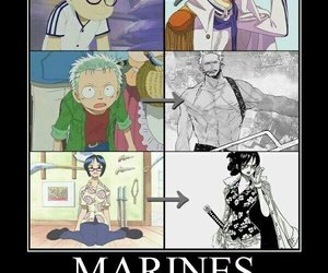 one piece, smoker, and anime image