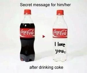 diy, coke, and message image