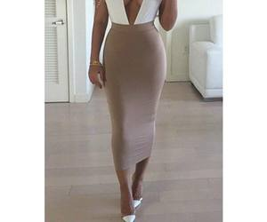 dress, fashionable, and fashionist girl image