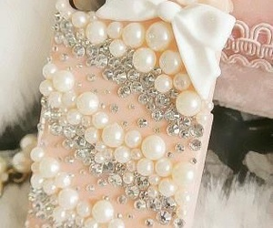 iphone, case, and pearls image