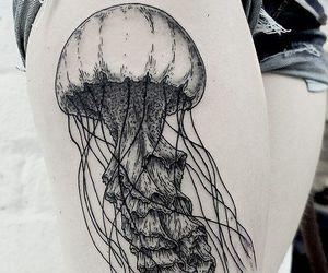 tattoo and jellyfish image