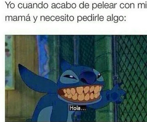 funny and stich image