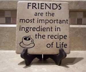 life, friends, and friendship image