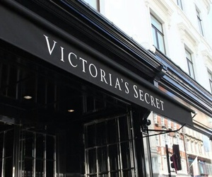 Victoria's Secret, store, and black image