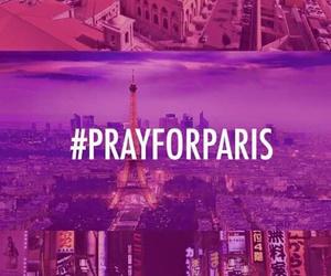 paris, prayforparis, and Beirut image