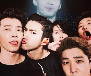 super junior, donghae, and kangin image