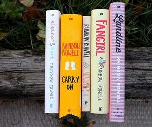 book and rainbow rowell image