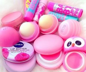 pink, eos, and nivea image