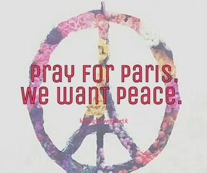 france, paris, and peace image