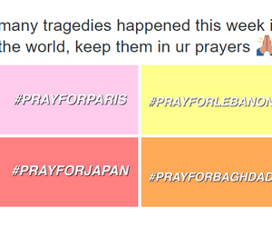 japan, paris, and pray image