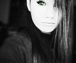 black and white, my, and cute image
