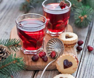 christmas and tea image