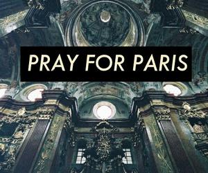 paris, pray for paris, and pray image