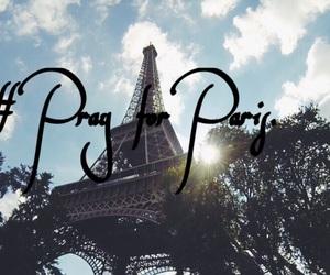 for, paris, and pray image