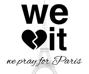 france, paris, and pray for paris image