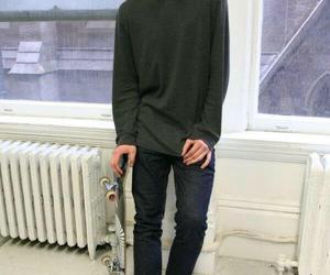 boy, skate, and model image
