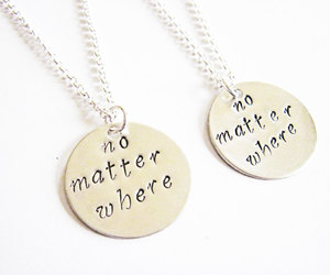 etsy, personalized, and sisters necklace image