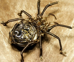 steampunk and spider image
