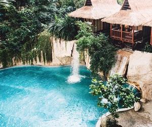 paradise, blue, and exotic image