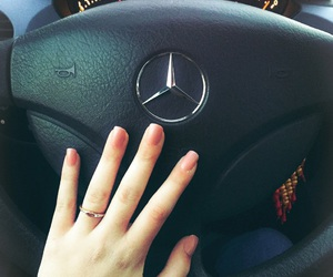 benz, love, and car image