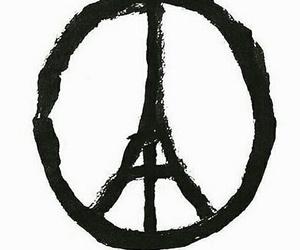 attack, paris, and horror image