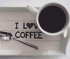 background, coffee, and quotes image