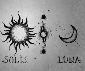 moon, sun, and luna image