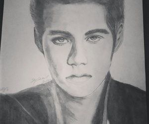 draw, drawing, and teen wolf image