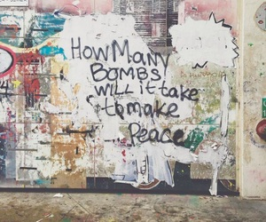 peace, quotes, and bomb image