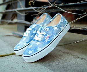 vans, beautiful, and stars image