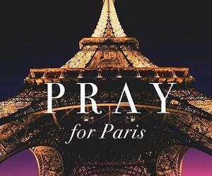 paris, pray, and pray for paris image