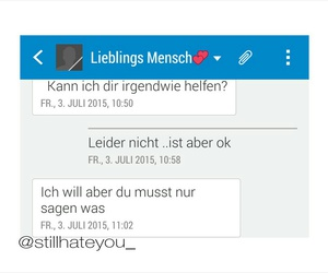 chats, help, and liebe image