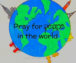 peace, paris, and world image