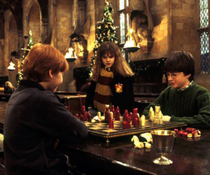 harry potter, hermione granger, and christmas image