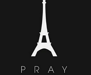 for, pray, and paris image