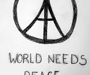 paris, peace, and help image