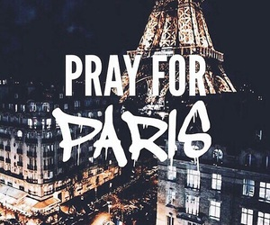 paris, pray, and prayforparis image