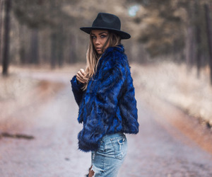 fashion, blogger, and hat image