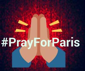 snap, snapchat, and pray for paris image