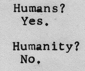 humanity, humans, and no image