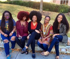 african american, hair, and natural hair image
