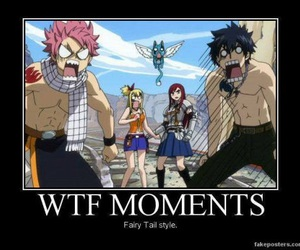 fairy tail, funny, and wtf image