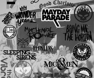 wallpaper, bands, and music image