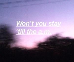 am, song lyrics, and a.m. image