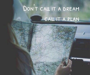 Dream, plan, and travel image